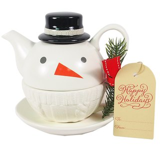 Warm Teapot Cup Set [Hallmark Gift Christmas Series]