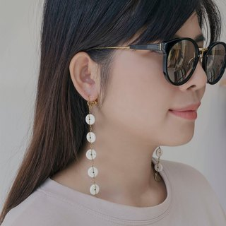 Krabi  earrings (clip-on / piercing)