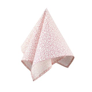 CAVEMAN Pocket Square - Japan Red Spiral
