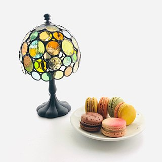 Stained glass lamp Macaron