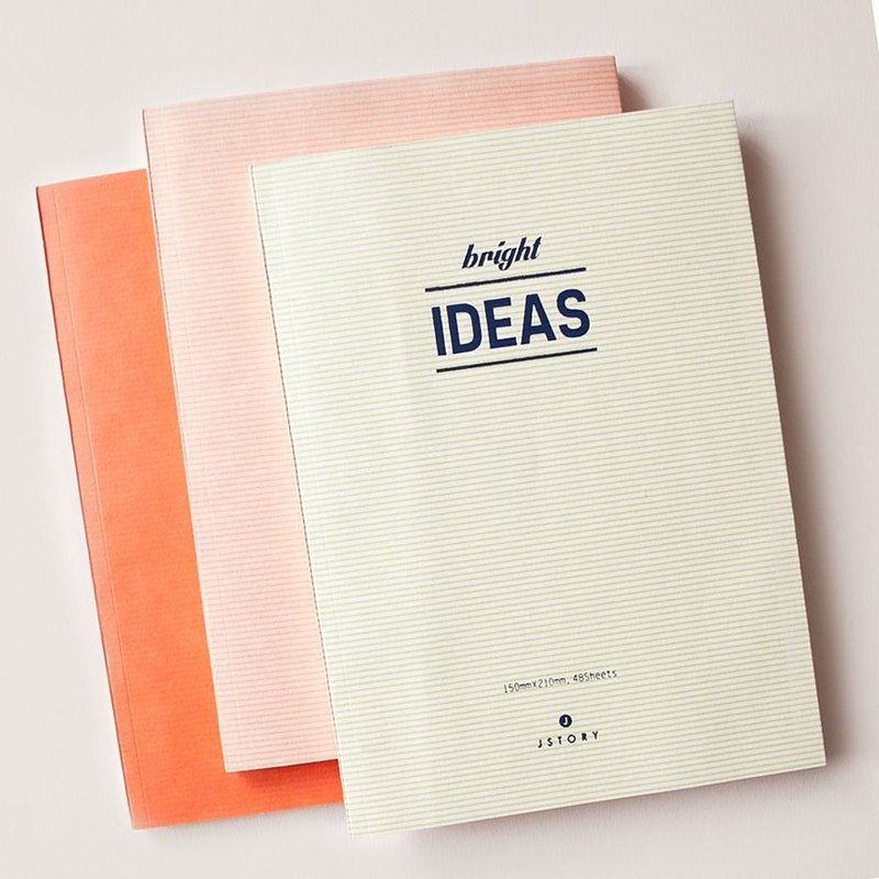 JStory Wenqing adult stationery - Universal Notebook -ideas (white), JST32284