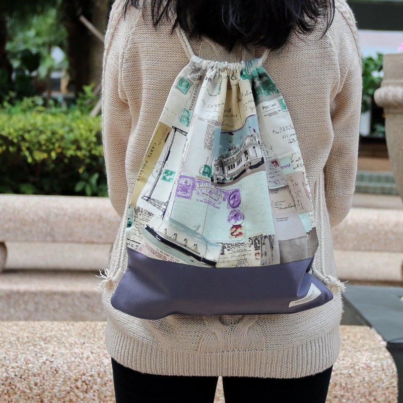 After the beam port backpack Silverbreeze ~ ~ (B65)