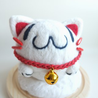 Sleeping original handmade [Lucky Cat]