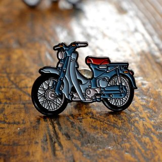 Pin Copper Pins - Super CUB C100 Cobalt Blue