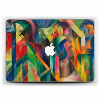 Franz Marc Macbook Pro 11 Case MacBook Air 13 Case Macbook 15 touch bar Macbook 12 Macbook Pro 13 Retina Expressionist Case Hard Plastic 1769