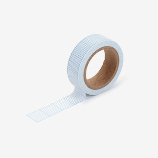 Single roll of paper tape -134 blue square, E2D14391