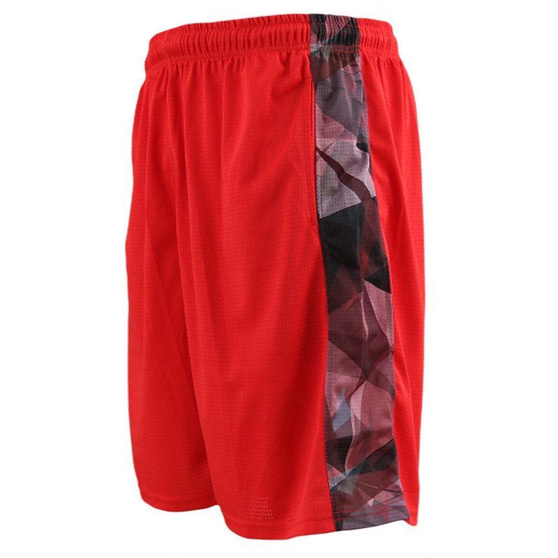 Tools fearless side heat sublimation basketball uniform #红# basketball pants