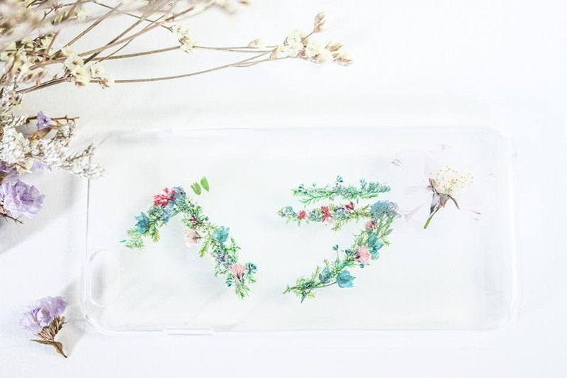 Exclusive Order - Taiwan Free Shipping Flower Name Mobile Shell