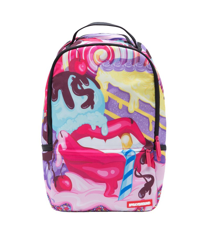 【SPRAYGROUND】DLX DUCHESS Sugar Lips 甜心嘴唇後背包