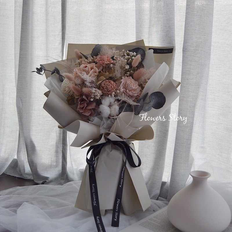 /Graduation Bouquet / Morandi Graduation Bouquet Large Mailing