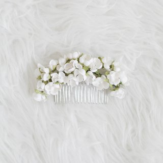 Osmanthus - Paper Flower Hair Comb