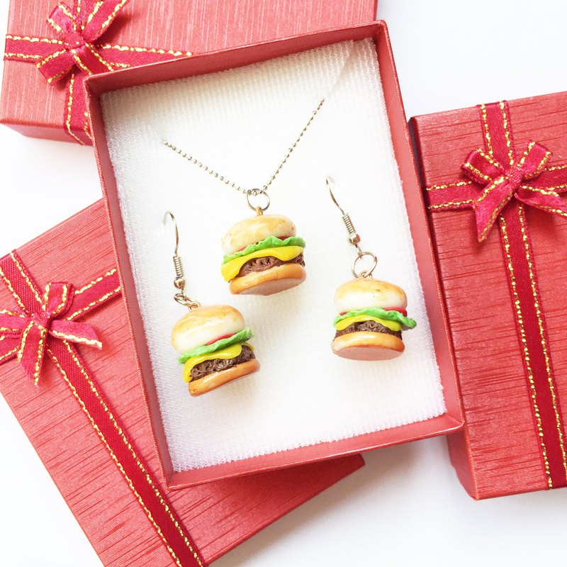 Hamburger Jewerly Box set
