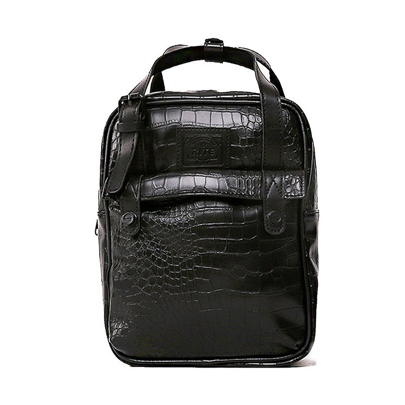 [New listing / buy big send small] RITE Mplus roaming bag small backpack black crocodile