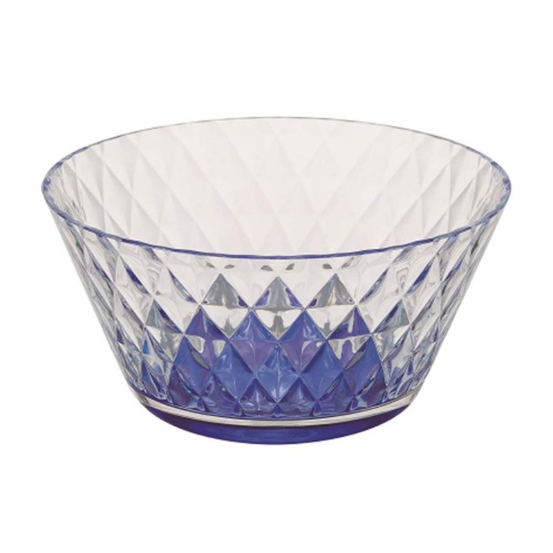 CB Japan UCA Series Outdoor PARTY Salad Bowl 550ml - Blue