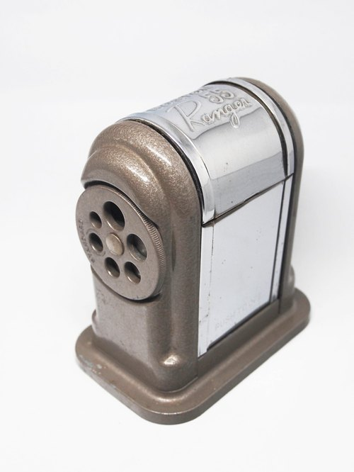 1980s Vintage BOSTON Ranger 55 antique pencil sharpener