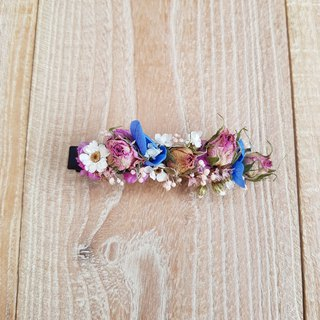 Dry flower hairpin | afternoon tea time