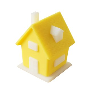 Vacii HOMi context lamp - yellow cottage