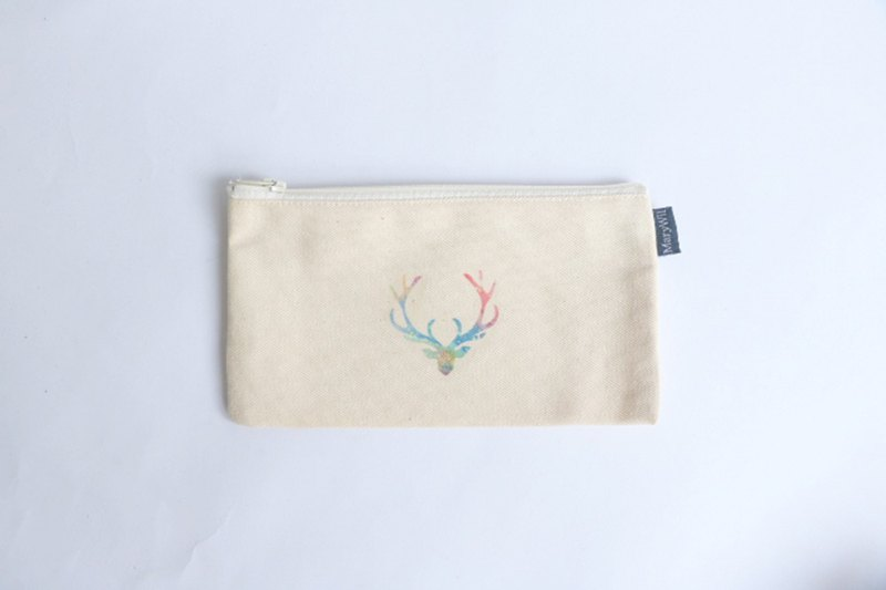 MaryWil Pencil Bags / Organizer Bags - Colored Antlers