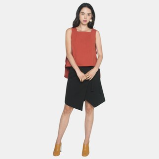 Ribbon Wrapped Skirt (Black)