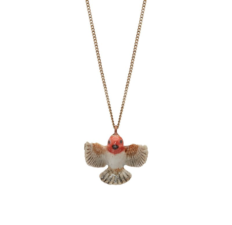 "And Mary Flying Robin Necklace | 24""/28"" 