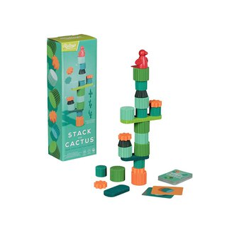 British Wild & Wolf and Ridley joint fun wood cactus Jenga game group