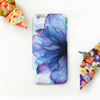 Flower vein - blue snow - iPhone original mobile phone case / protective cover / air pressure shell