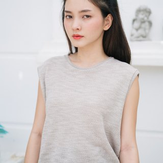 Soft French Terry Sleeveless Jumper Shirts