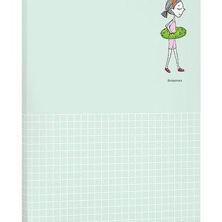 Dorothy May notepad simple universal - green (9AAAU0005)