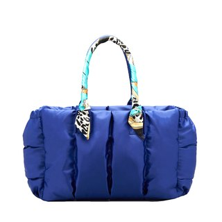 VOUS Luxury Mother Bag Starry Blue + Blue Ocean Scarf
