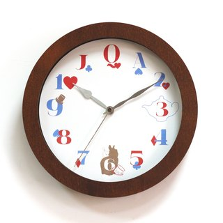 Sleepwalking Wonderland - Hatter's tea party wall timepiece
