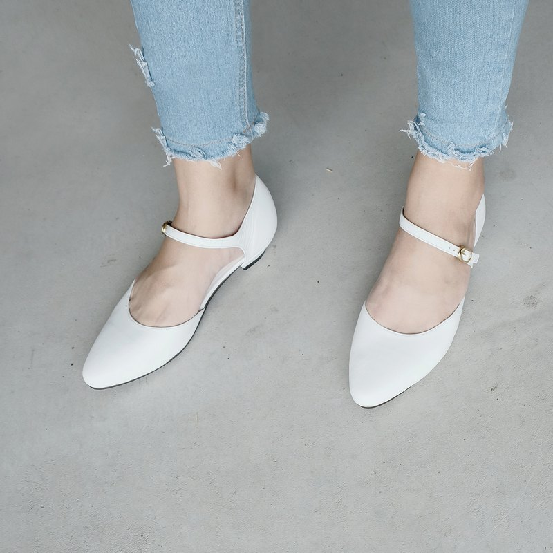 WL Idun (White) White Low Heels Spring Comes / Pinkoi First Wave Offer