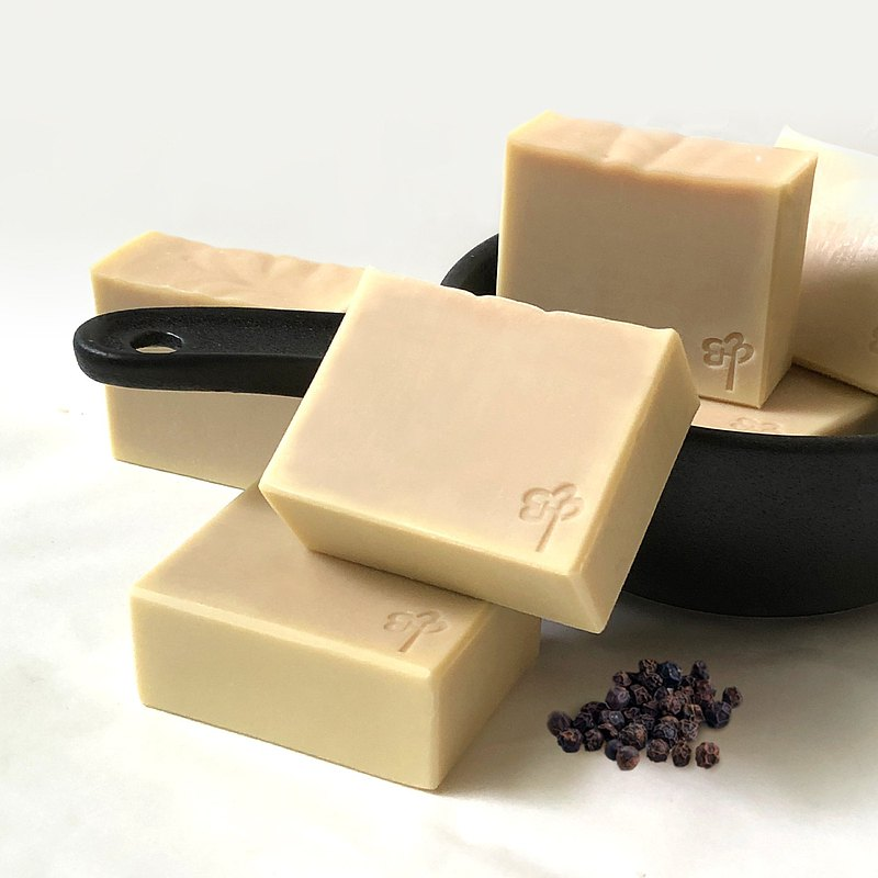 Out-of-print release丨Black Pepper Handmade Soap丨Medium-dry skin [SGS inspection qualified]