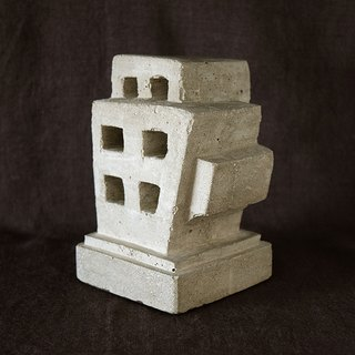 Ruins Concrete Bookend (apartment)