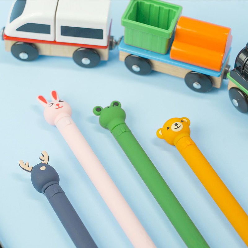 Apple Pencil 1代 矽膠保護套-可愛動物造型款