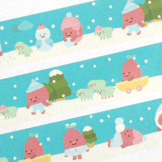 Winter Wanggooma masking tape