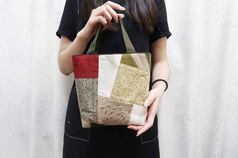 Douba design Patchwork bag