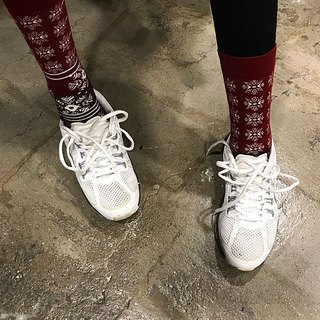 靴下スノークリスマス / irregular / socks / merry x'mas / christmas / couple / pair