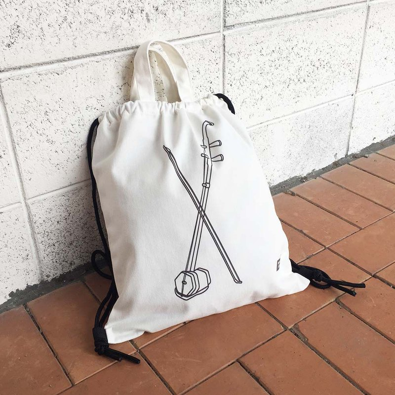 WD musical instrument cotton backpack - Erhu spot + pre-order