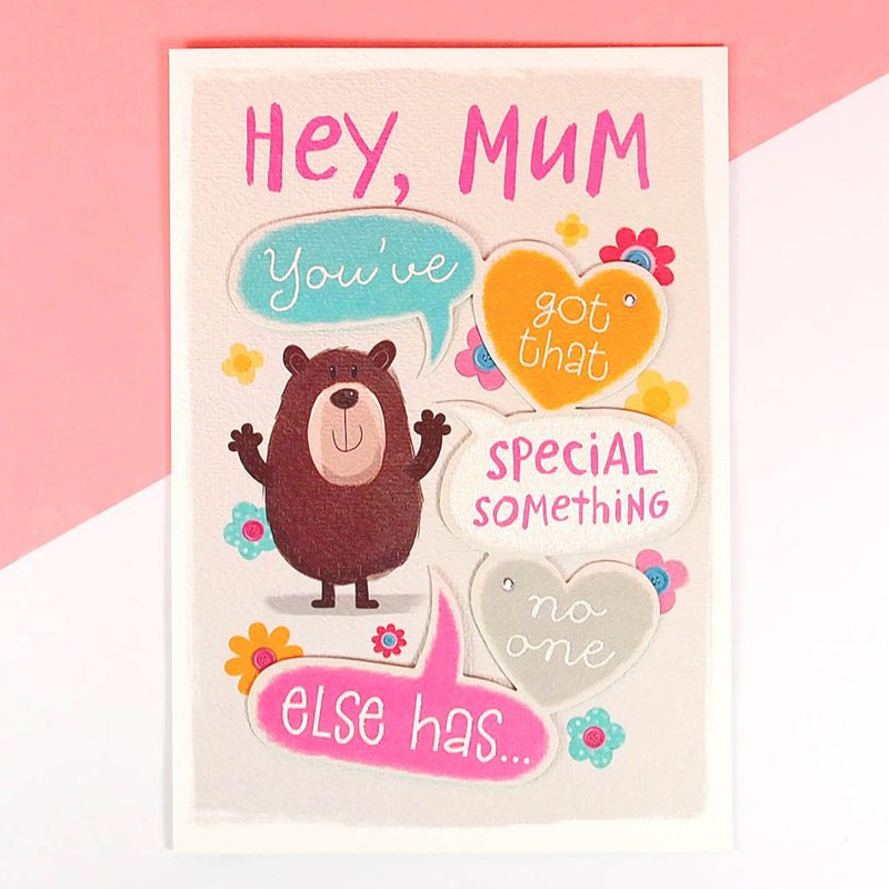 I wish you a good day [Hallmark-Card Mother's Day Series]