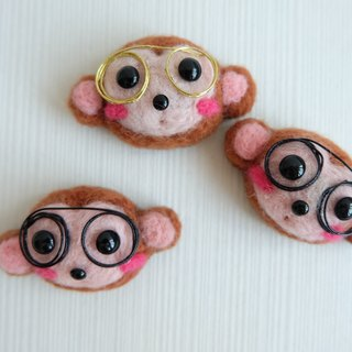 sleeping original manual] [Dr. Monkey brooch / fridge magnet