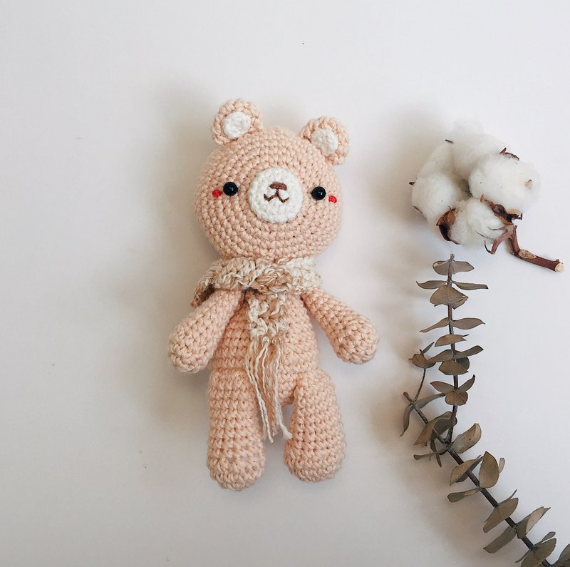 Amigurumi Simply Doll | Pink Bear