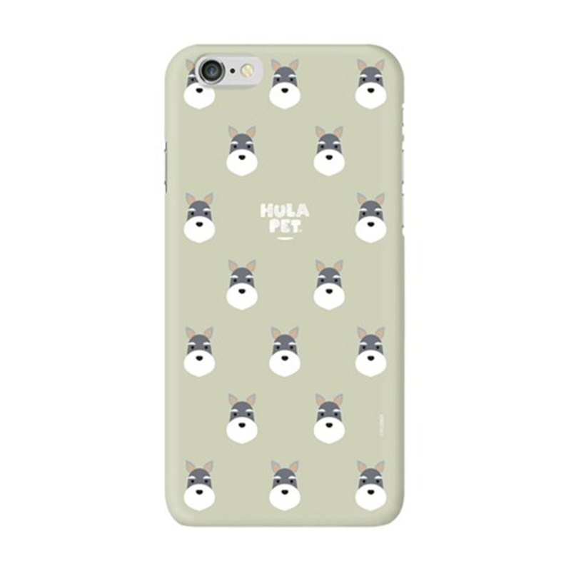 HULA PET MOBILE CASE PATTERN VERSION SCHNAUZER (8 plus)