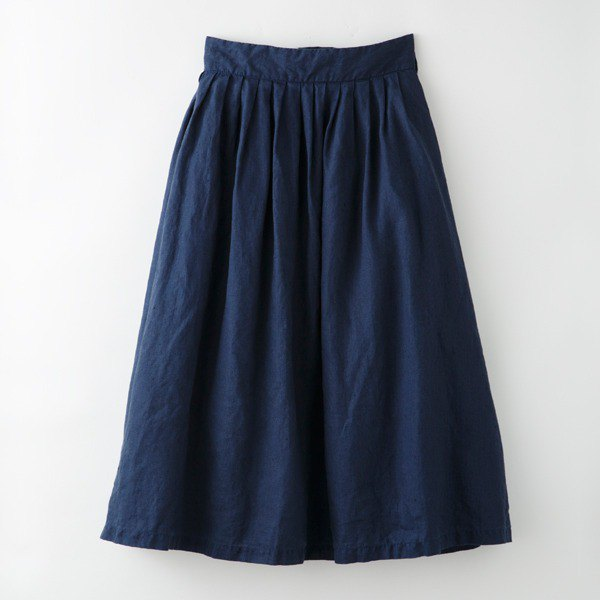 Botanical Dyed Log Wood Dyed Hemp's skirt 8612-05014-11