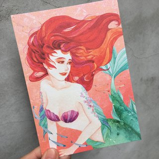 Fragrance Postcard - Mermaid