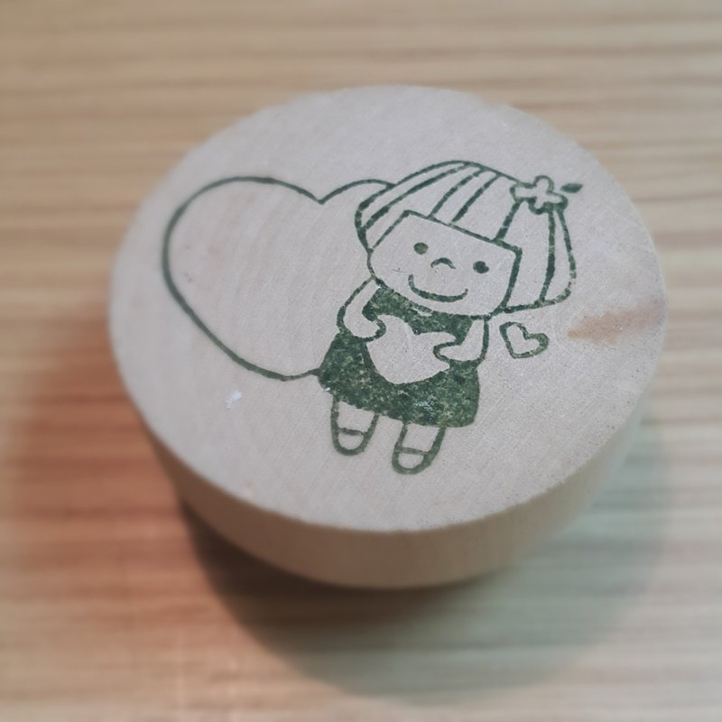 【Stamp】Lovely Girl