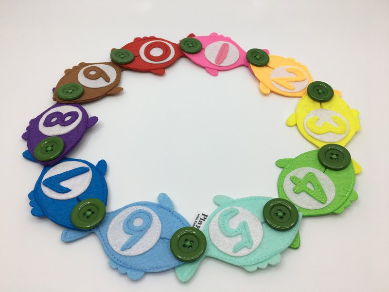 handmade Button Fishes