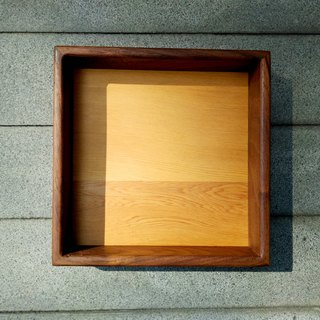 Walnut + Taiwan Elm small box storage compartment