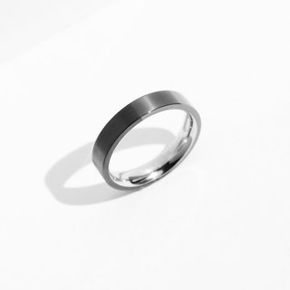 NEW! Dual Texture Ring | Grey | Personalised Gift