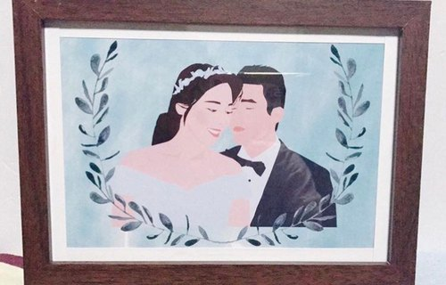 Exclusive orders - Customized couples / couples / friends / teachers / married portraits