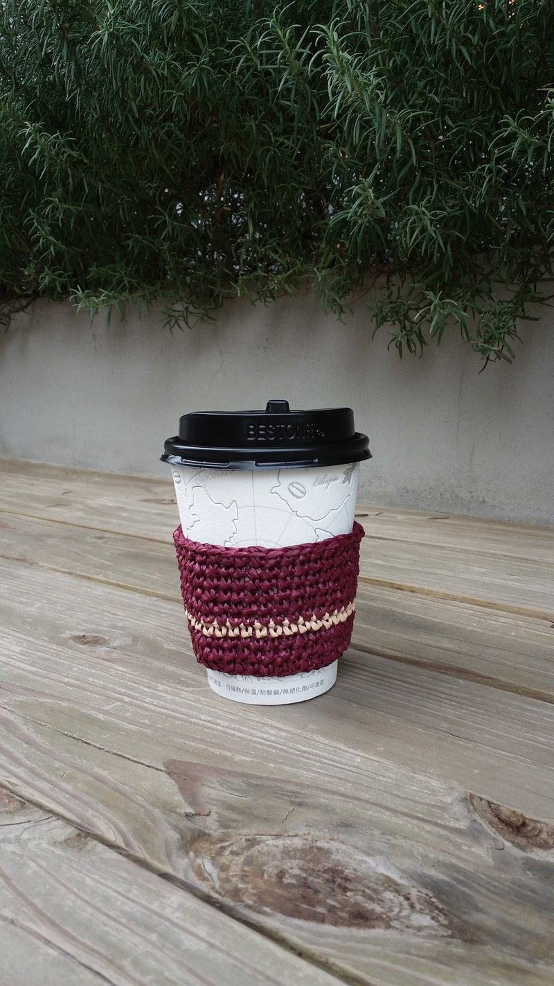 Thermal cup special insulated cup sleeve - purple